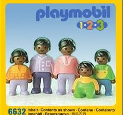 Playmobil - 6632 - Dark Family