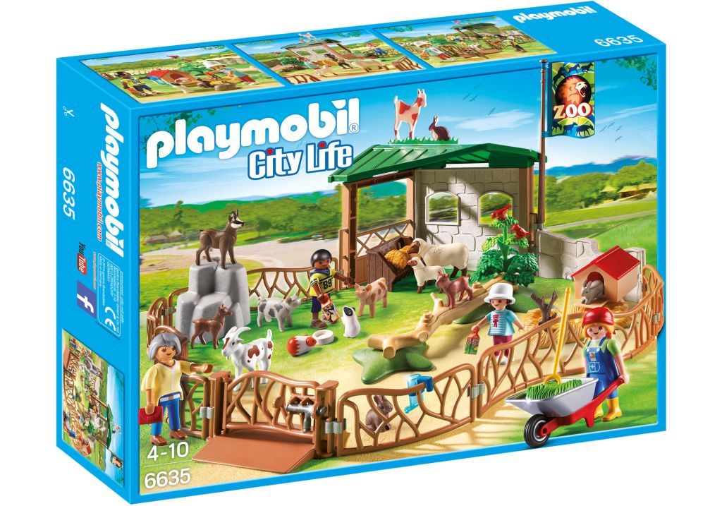 Playmobil 6635 - Petting Zoo - Box