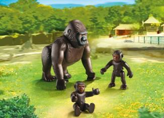 Playmobil - 6639 - Gorilla with baby