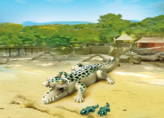 Playmobil - 6644 - Alligator with Babies