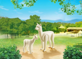 Playmobil - 6647 - Alpaca with baby
