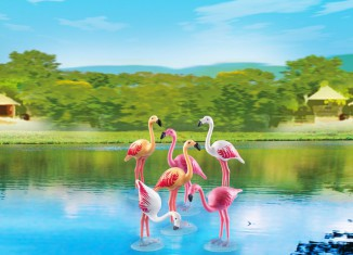 Playmobil - 6651 - Flock of Flamingos