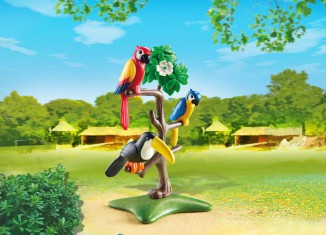 Playmobil - 6653 - Parrots and toucans in the tree