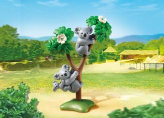 Playmobil - 6654 - 2 Koalas with Baby