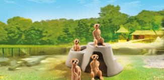 Playmobil - 6655 - Meerkat Den