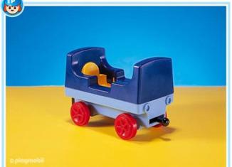 Playmobil - 7293 - 1-2-3 Train Car