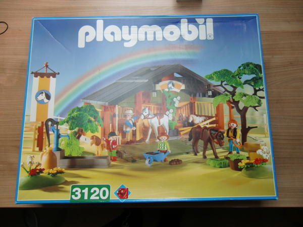 Playmobil 3120s2 - Horse & Pony Ranch - Box
