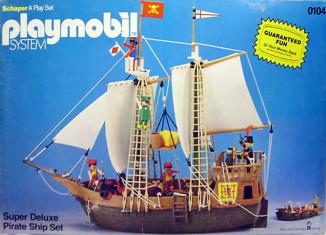 Playmobil - 0104-sch - super deluxe pirate ship