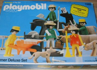 Playmobil - 1502-sch - Farmer Deluxe Set