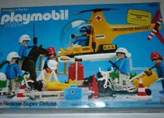 Playmobil - 1904-sch - Police Rescue Super Deluxe