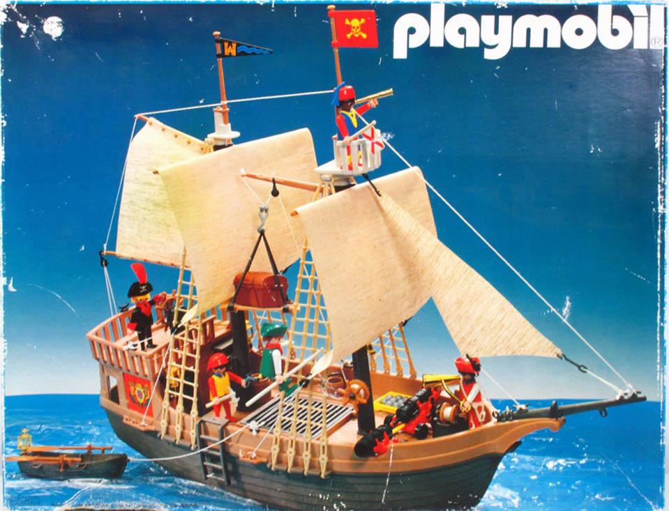 Playmobil 3050-usa - pirate ship - Box