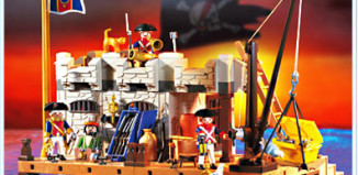 Playmobil - 3288-usa - Naval stronghold