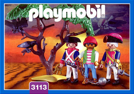 Playmobil 3113v1 - soldiers / pirate - Box