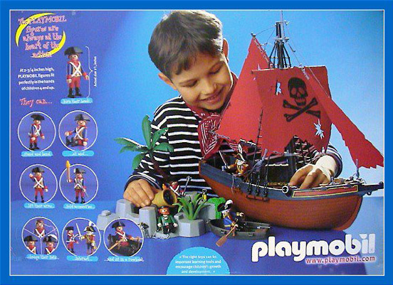 Playmobil 3133 - special edition 25 años pirates - Back