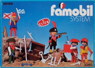 Playmobil - 3280-fam - pirates / treasure chest