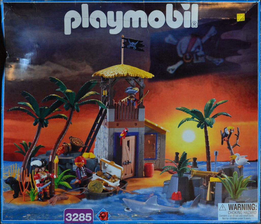 Playmobil 3285-usa - pirate lagoon - Box