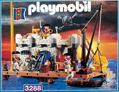 Playmobil 3288-usa - Naval stronghold - Box