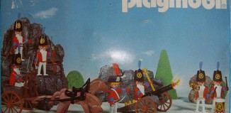 Playmobil - 3402-esp - Redcoats with artillery train