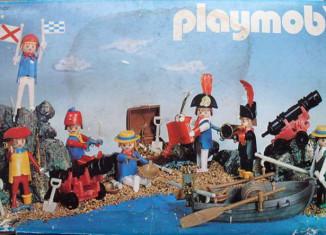 Playmobil - 3410-esp - 7 piratas