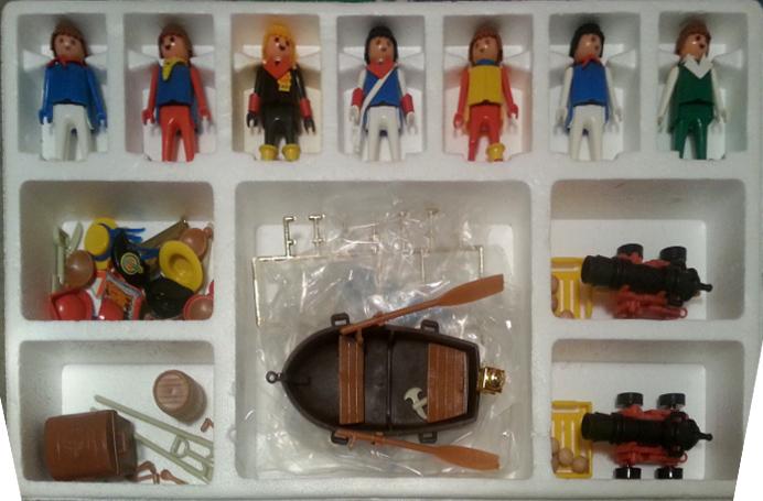 Playmobil 3410-fam - Pirates Super Set - Back