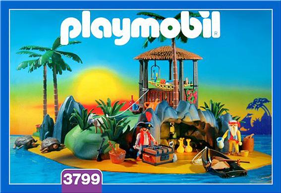 Playmobil 3799 - Treasure island - Box