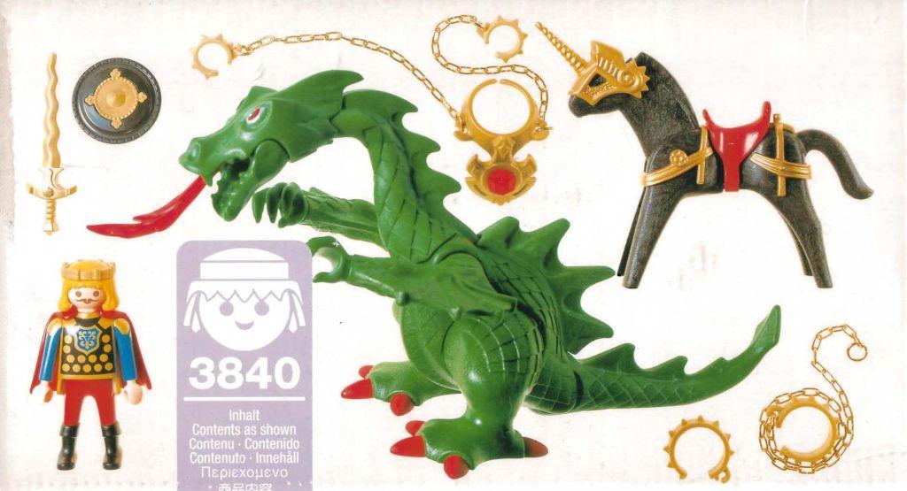Playmobil 3840 - Dragon - Back