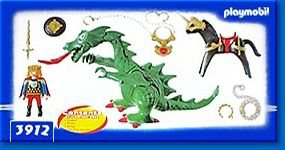 Playmobil 3912-usa - Dragon - Back