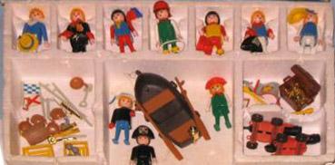Playmobil 3930-esp - 7 pirates - Back