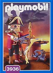 Playmobil 3936 - Pirate captain - Box