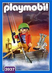 Playmobil 3937 - Pirate and rowboat - Box