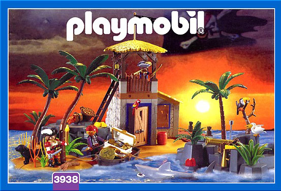 Playmobil 3938 - Pirate lagoon - Box