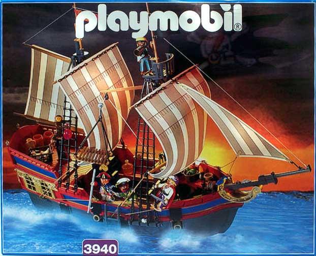 Playmobil 3940 - Gran buque insignia pirata - Caja