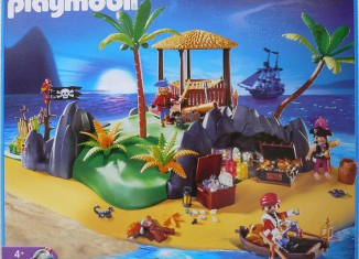 Playmobil - 4073-ger - Treasure island