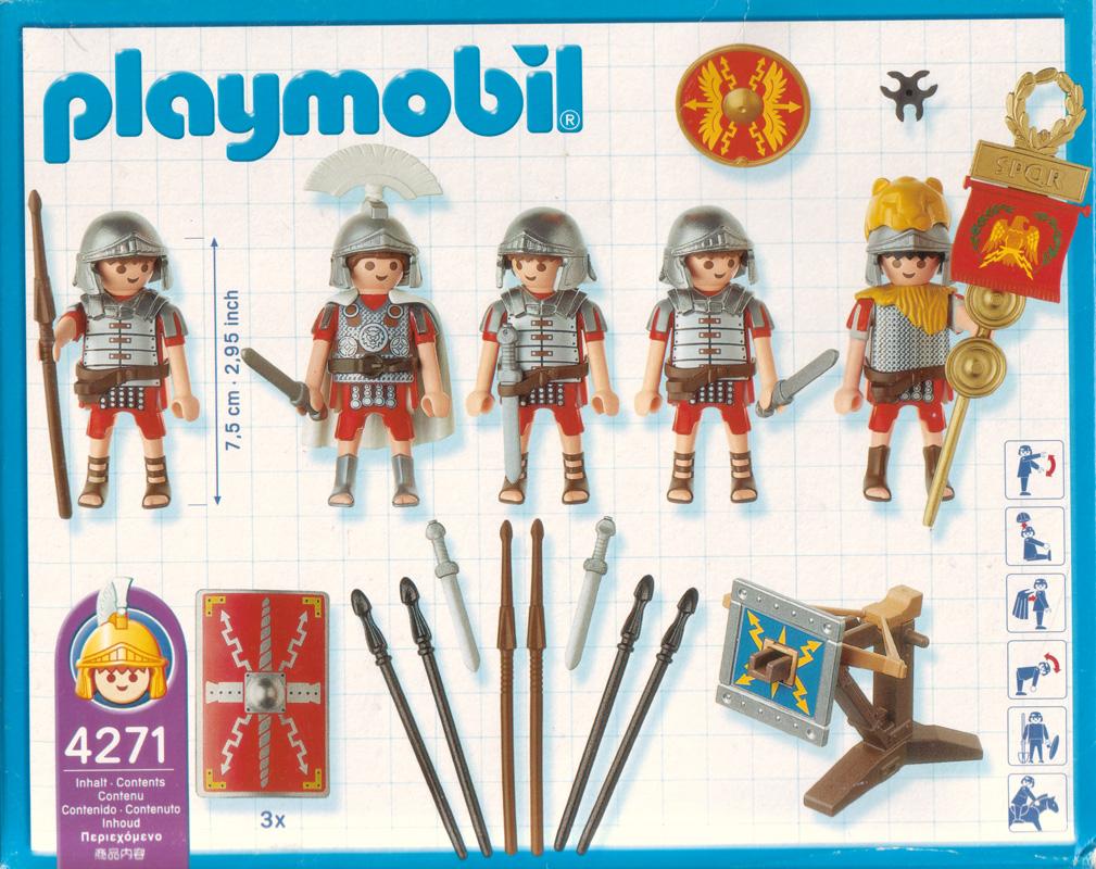 Playmobil 4271 - Roman Warriors - Back