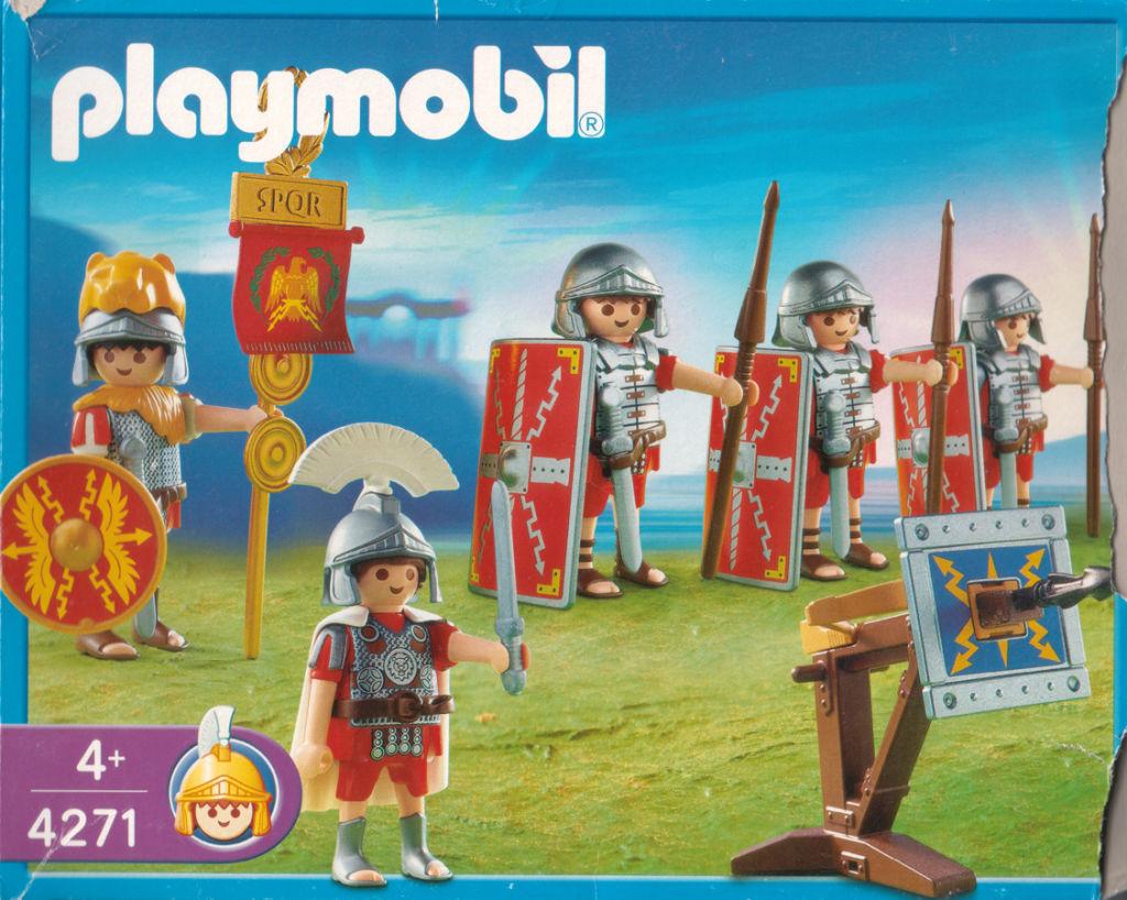 Playmobil 4271 - Roman Warriors - Box
