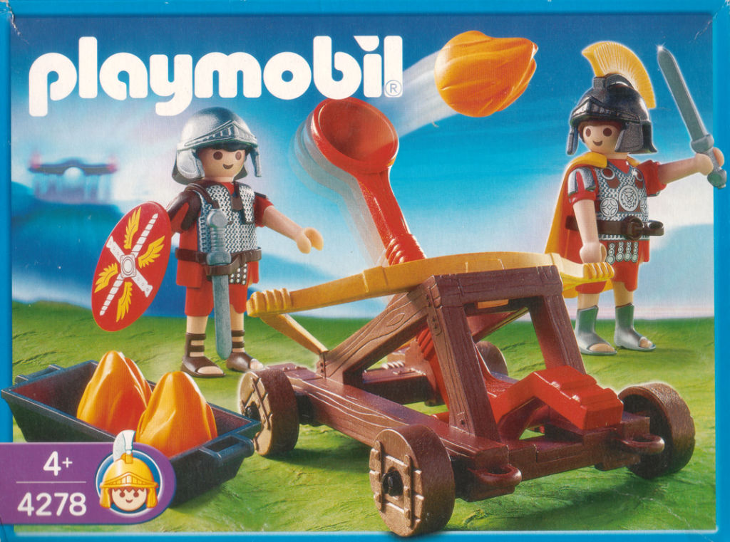 Playmobil 4278 - Firing Catapult - Box