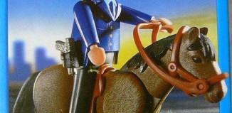 Playmobil - 5703-usa - Mounted Policeman