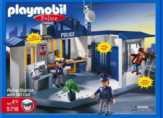 Playmobil - 5718-usa - Police Station