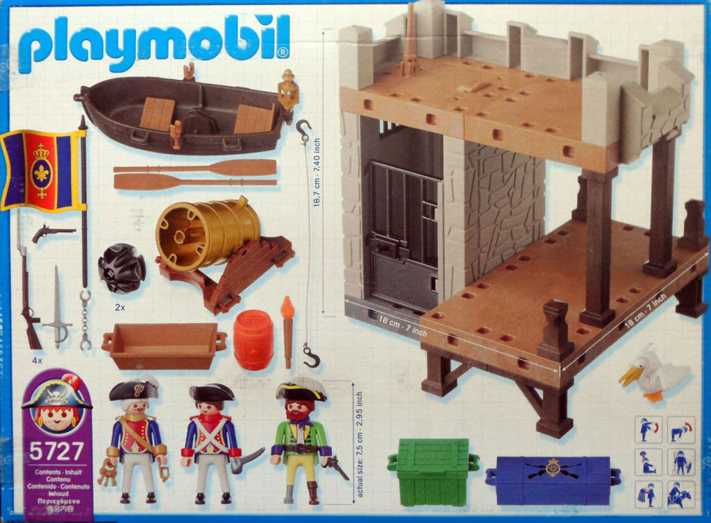 Playmobil Set 5727 Usa Pirate Dungeon Klickypedia