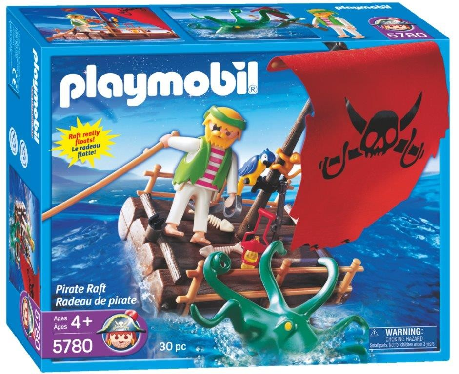 Playmobil 5780-usa - pirate raft - Box