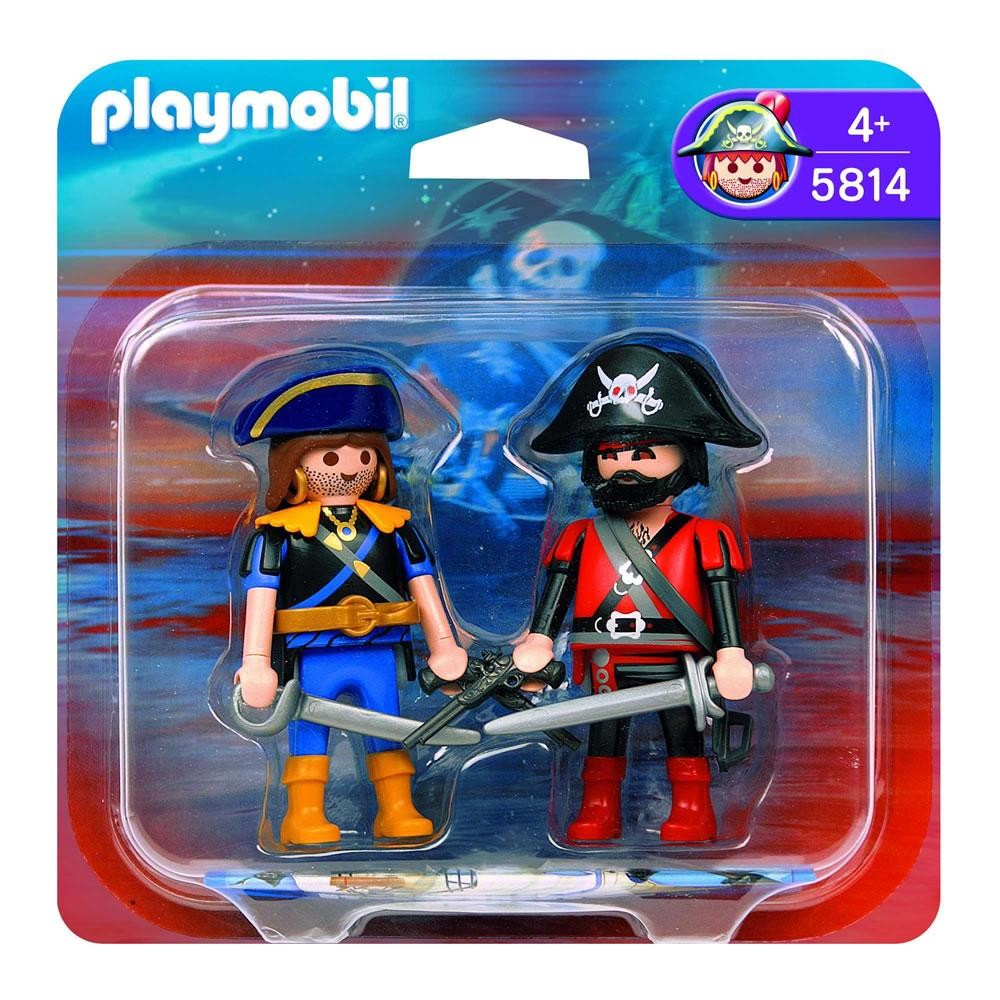 Playmobil 5814-ger - pirate and corsair blister - Box