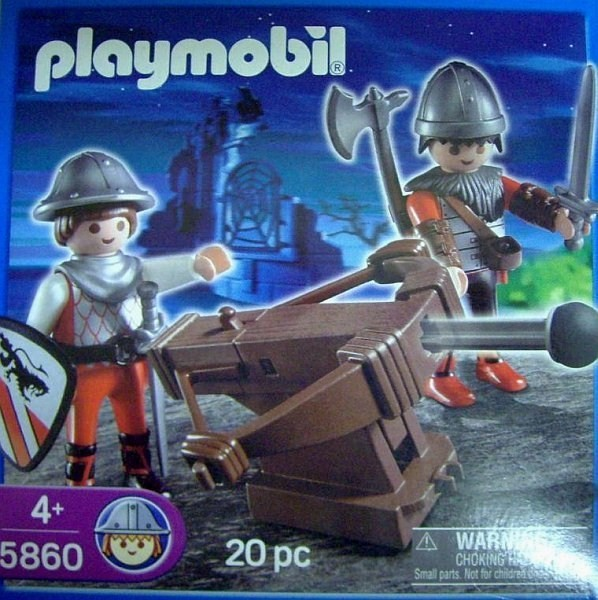 Playmobil 5860-usa - Knights with Crossbow - Box