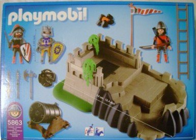 Playmobil 5863-usa - Knights Action Set - Back