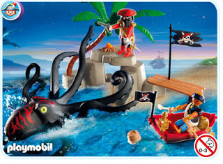 Playmobil - 5868-usa - octopus attack