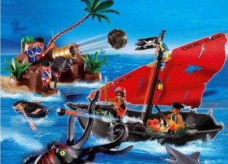 Playmobil - 5881-usa - Pirates Super Set