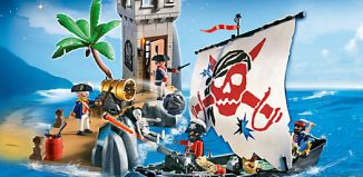 Playmobil - 5919-usa - pirate bastion set