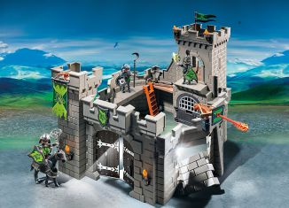 Playmobil - 6002-gre-esp-usa - Wolf Knights` Castle