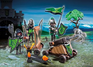 Playmobil - 6041-esp-gre-usa - Wolf Knights with Catapult