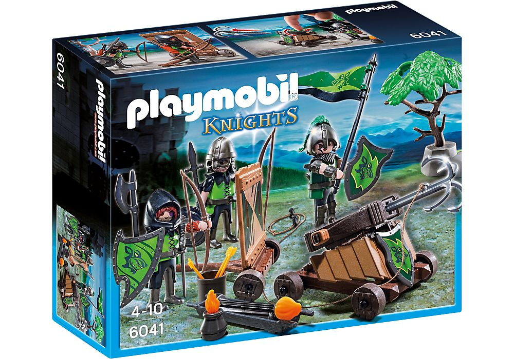 Playmobil 6041-esp-gre-usa - Wolf Knights with Catapult - Box