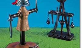 Playmobil - 7188 - Knights' Training Dummy & Weapons